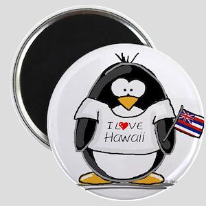 Hawaii Penguin Magnet