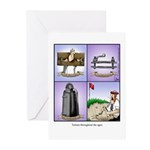 GOLF 074 Greeting Cards (Pk of 10)