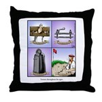 GOLF 074 Throw Pillow
