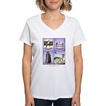GOLF 074 Women's V-Neck T-Shirt