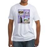 GOLF 074 Fitted T-Shirt