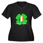 Being Irish Is Lucky (WL) Women's Plus Size V-Neck