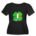 Being Irish Is Lucky (WL) Women's Plus Size Scoop