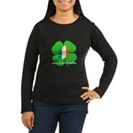 Being Irish Is Lucky (WL) Women's Long Sleeve Dark