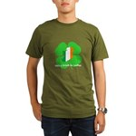 Being Irish Is Lucky (WL) Organic Men's T-Shirt (d