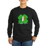 Being Irish Is Lucky (WL) Long Sleeve Dark T-Shirt