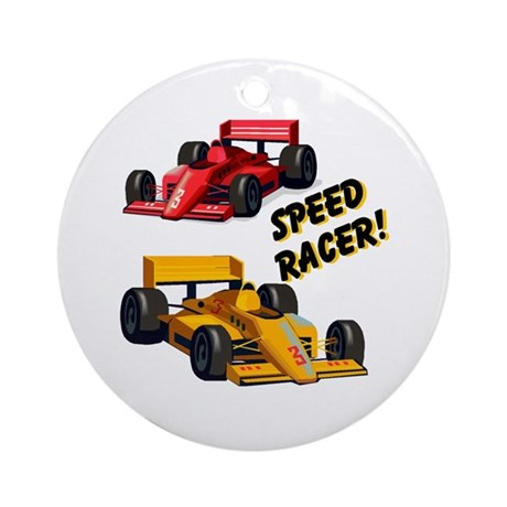 Speed Racer Ornament (Round)