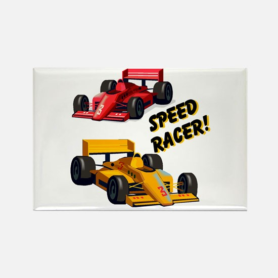 Speed Racer Rectangle Magnet