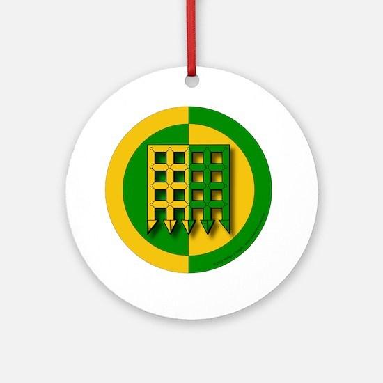 Unser Hafen Populace Ornament (Round)