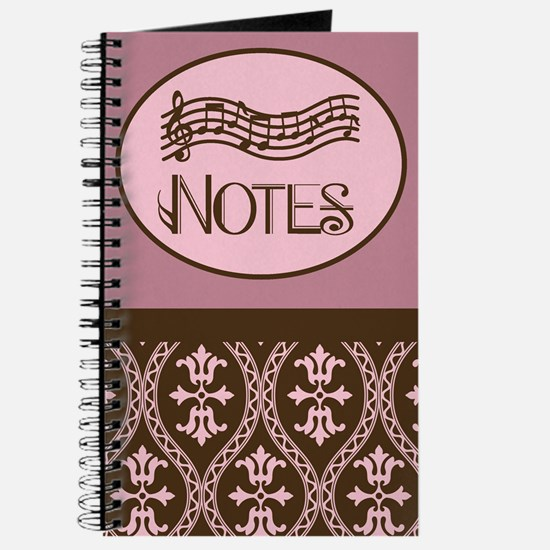 Music Notes Band or Choir Gift Journal