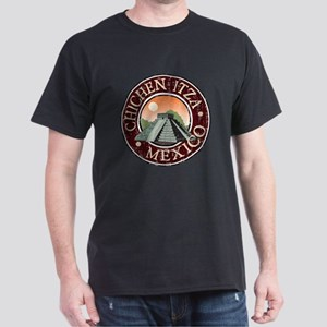 Chichen Itza - Distressed Dark T-Shirt