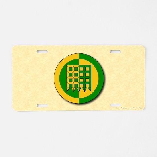 Unser Hafen Populace Aluminum License Plate
