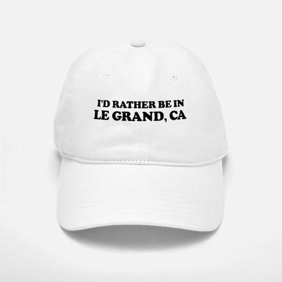 Rather: LE GRAND Baseball Baseball Cap