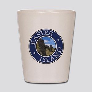 Easter Island Shot Glass