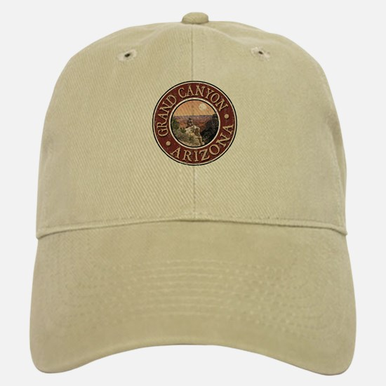 Grand Canyon - Distressed Baseball Baseball Cap