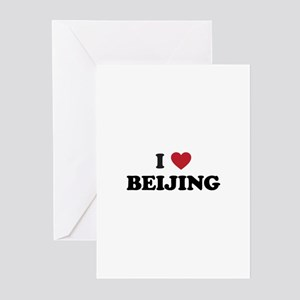 I Love Beijing Greeting Cards (Pk of 20)