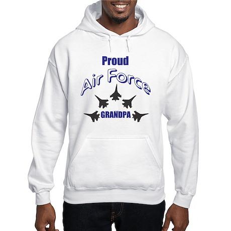 Proud Air Force Grandpa Hooded Sweatshirt