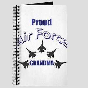 Proud Air Force Grandma Journal