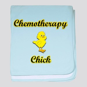 Chemotherapy Chick baby blanket