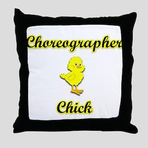 Choreographer Chick Throw Pillow