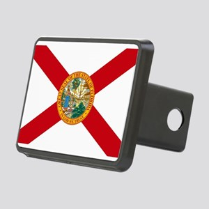 Florida State Flag Rectangular Hitch Cover