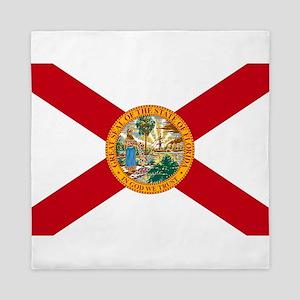 Florida State Flag Queen Duvet