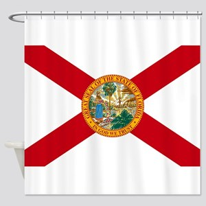 Florida State Flag Shower Curtain