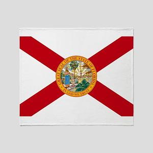 Florida State Flag Throw Blanket