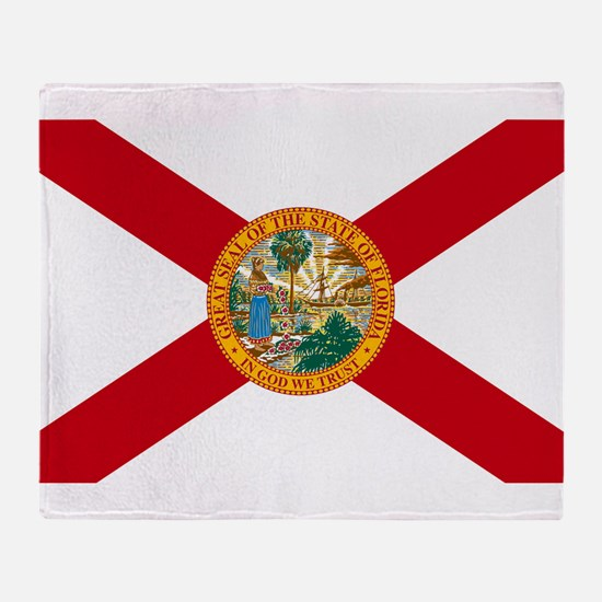 Florida State Flag Throw Blanket