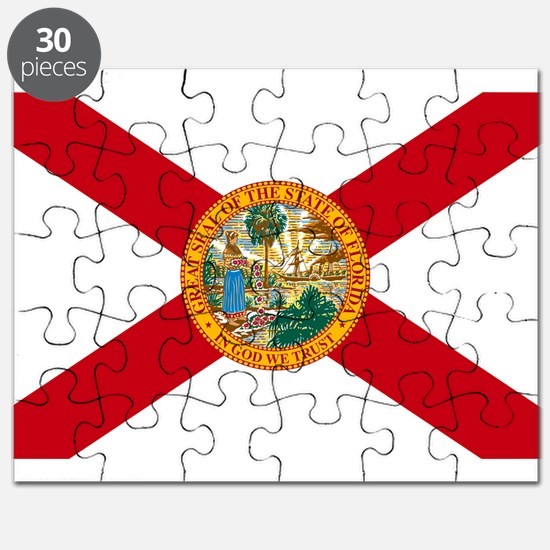 Florida State Flag Puzzle