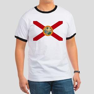 Florida State Flag Ringer T