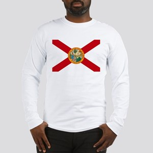 Florida State Flag Long Sleeve T-Shirt