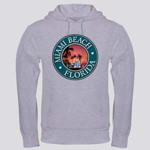 Miami Beach Hooded Sweatshirt
