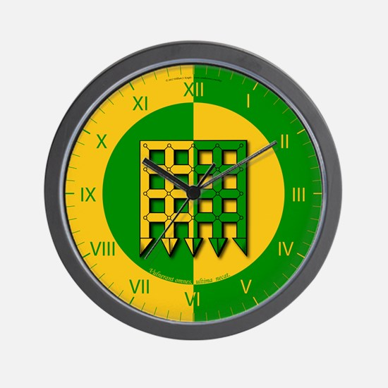 Unser Hafen Populace Wall Clock
