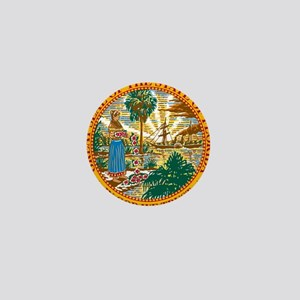 Florida State Seal Mini Button