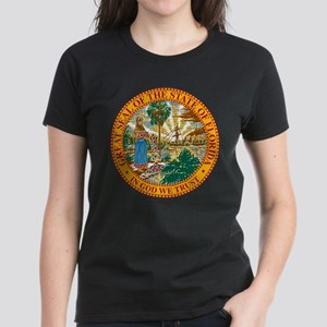 Florida State Seal Women's Dark T-Shirt