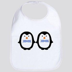 Teo Male Penguins Bib