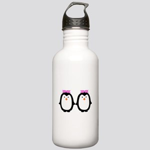 Two Female Penguins Stainless Water Bottle 1.0L