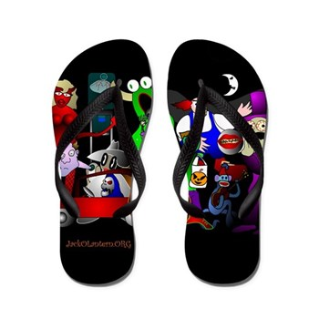 JackOLantern.ORG Flip Flops