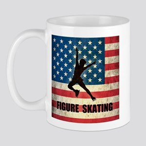 Grunge USA Figure Skating Mug