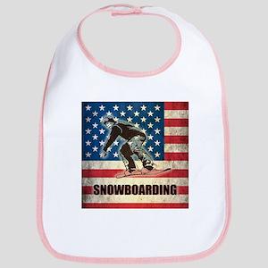 Grunge USA Snowboarding Bib