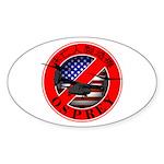 OSPREY2 Sticker (Oval 50 pk)