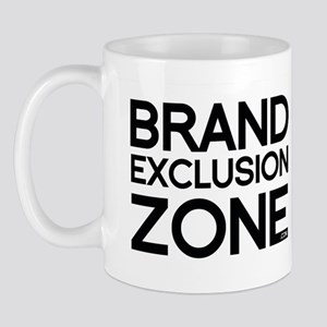 Brand Exclusion Zone Mugs