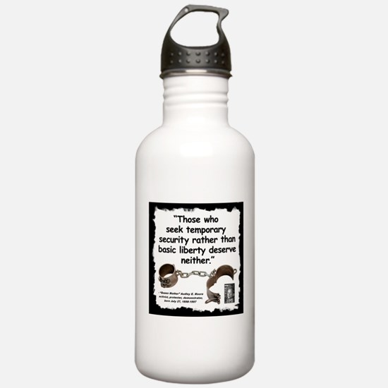 Moore Liberty Quote 2 Water Bottle