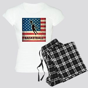 Grunge USA Basketball Women's Light Pajamas