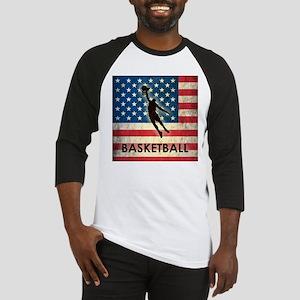 Grunge USA Basketball Baseball Jersey