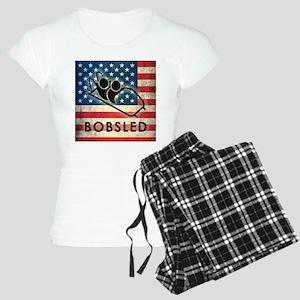 Grunge Bobsled Women's Light Pajamas