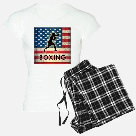 Grunge USA Boxing Pajamas