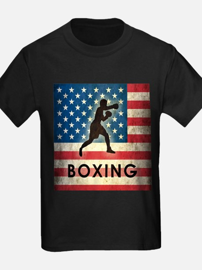 Grunge USA Boxing T