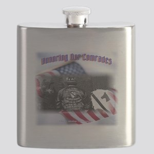 Honoring Our Comrades Flask